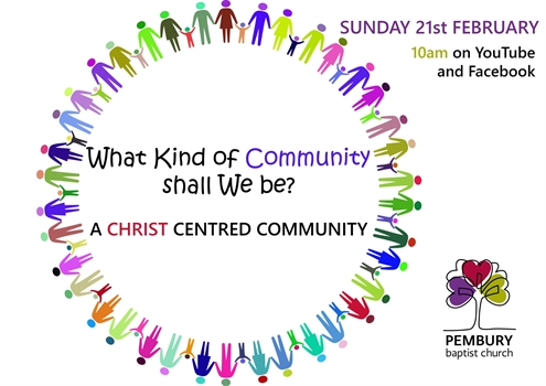 A Christ-Centred Community